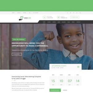 Aideo - Non-Profil Charity HTML Template