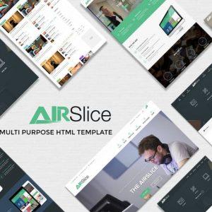 AirSlice - HTML Creative Responsive Template