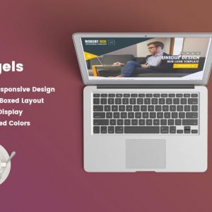 Angels – Clean & Creative vCard Portfolio Template