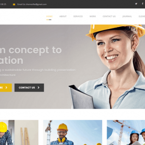 Arch- Construction, Building And Business HTML Tem