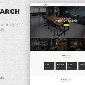 Arch Decor - Interior Design, Architecture PSD