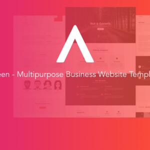 Areen - Multipurpose Business Website Template