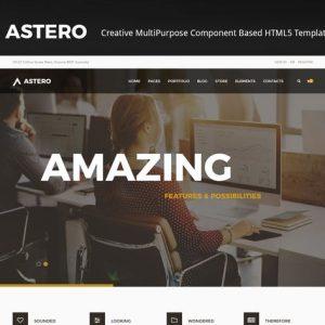 Astero   Creative MultiPurpose HTML Template