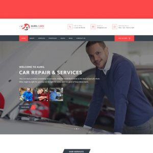 Auril - Car Mechanic Workshop HTML Template