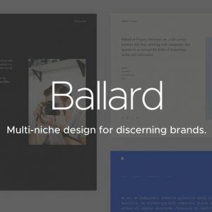 Ballard | CV, Agency, Law & Restaurant Template