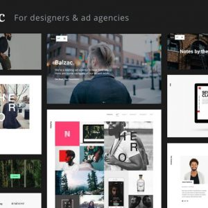 Balzac - A Creative HTML5 Template for Agencies
