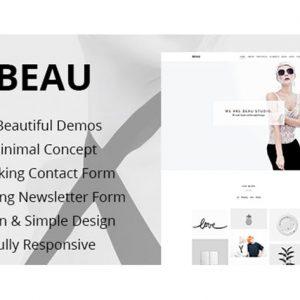 Beau - Portfolio Agency HTML Theme