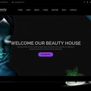 Beautyhouse - Health & Beauty HTML Template