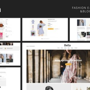Bella - Multipurpose Fashion eCommerce Template