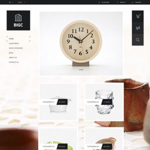 Big Shop - Responsive HTML Template