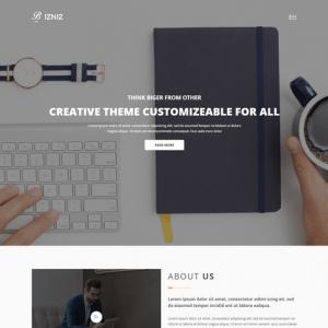 Bizniz – Creative Agency HTML Template