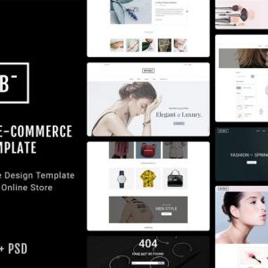 Botique - Responsive Multi-Purpose eCommerce