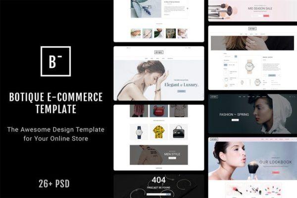 Botique - Responsive Multi-Purpose eCommerce