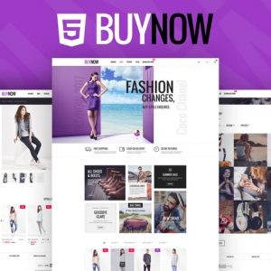 BuyNow - Ecommerce html template
