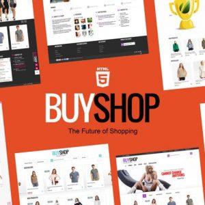 BuyShop - Ecommerce HTML Template