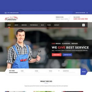 Car dinal - Car Wash & Workshop HTML Template