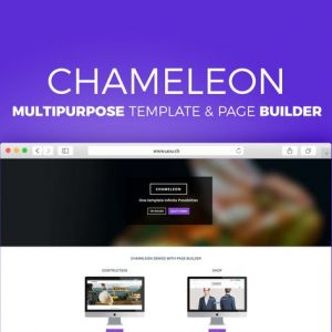 Chameleon - Multipurpose Template and Page Builder