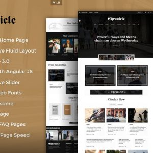 Chronicle Premium HTML5 Template