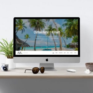 Clifton Hotel - One-Page Parallax HTML5 Travel