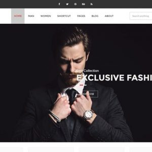 Clothing - eCommerce Fashion Template