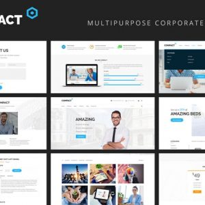 Compact - Multipurpose Business Corporate Template