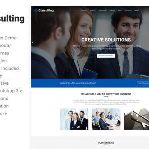 Consulting - Broker Advisor Finance HTML5 Template