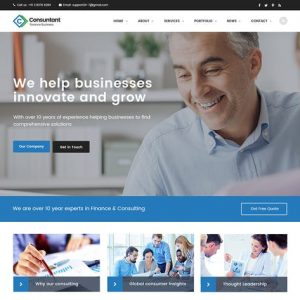 Consulting Finance Accounting Enterprise PSD
