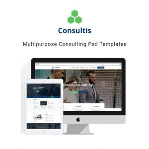 Consultis | Multipurpose Consulting PSD Templates
