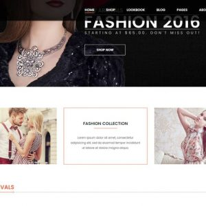 Crazy Fashion - eCommerce HTML5 template