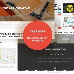 Creatova - Bootstrap Agency Template