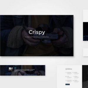 Crispy | One & Multi Page HTML