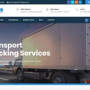 DHC | Logistics Transportation HTML Template