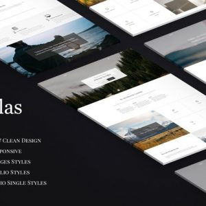 Dallas - Minimal Agency & Portfolio HTML Template