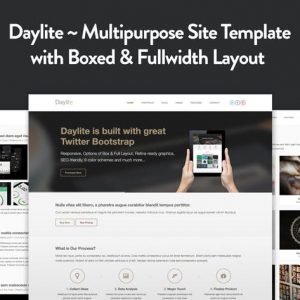 Daylite - Multipurpose Responsive HTML5 Template