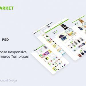 DeerMarket | Multi-Purpose Responsive Ecommerce PS