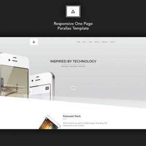 Delta - Responsive One Page Parallax Template