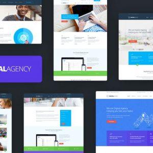 Digital Agency - SEO / Marketing HTML Template
