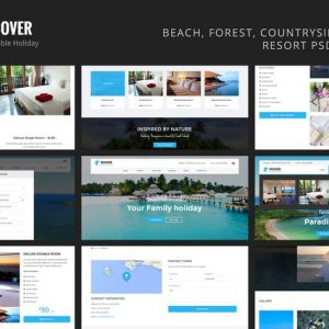 Discover - Countryside Hotel & Resort Template