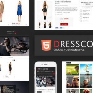 Dresscode - Ecommerce HTML Template
