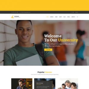 EduMax : Education & Courses HTML Template