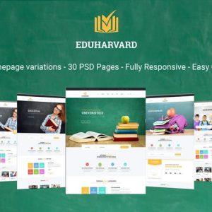 Eduharvard - Multiconcept Education & Courses PSD