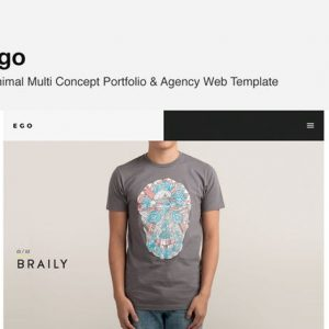 Ego - Multi Concept Portfolio -Freelancer Agency
