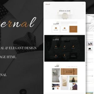 Eternal - Personal Elegant HTML Blog Template