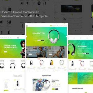 Exzo - Electronics eCommerce HTML Template