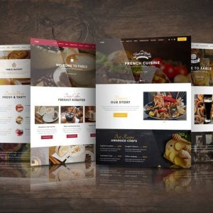 Fable - Bakery / Coffee / Pub / Restaurant Website