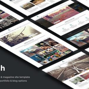 Finch – Photography & Magazine Site Template