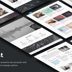 Frost - Multipurpose Responsive One Page
