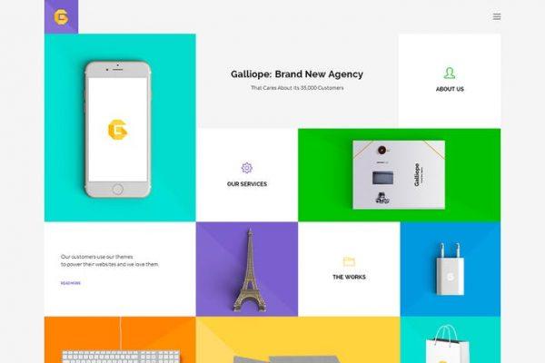 Galliope - Agency/Portfolio HTML Template
