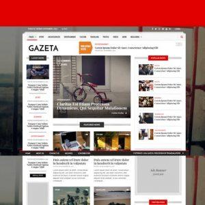 Gazeta 1 - Responsive Magazine & News Template