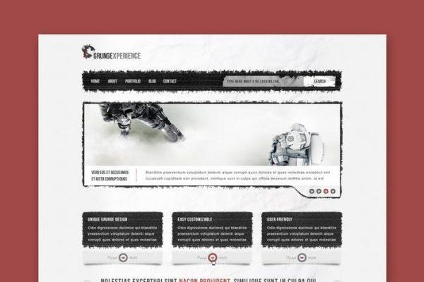 Grungexperience - Premium HTML Template